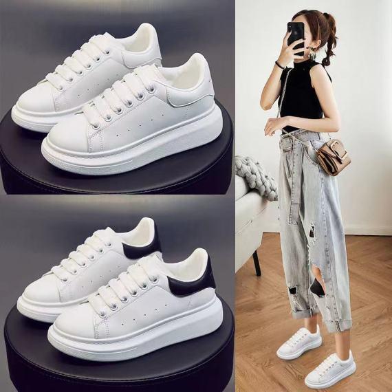 2020秋季新款麦昆小白鞋女学生韩版厚底增高女休闲网红鞋